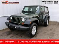 2011 Jeep Wrangler Sport Recent Arrival! INCLUDES