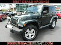 Wrangler Sahara, 4-Speed Automatic VLP, 4WD, Power