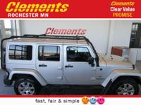 Options:  2011 Jeep Wrangler Unlimited 4Wd 4Dr 70Th