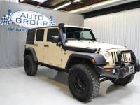 2011 JEEP WRANGLER UNLIMITED SPORT 4X4 LIFTED SAHARA