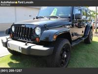 This SUPER CLEAN, Jeep Wrangler Unlimited prepares to