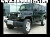 Wrangler Unlimited Sahara, 4-Speed Automatic VLP, and