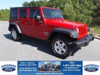 BEAUTIFUL 2011 JEEP WRANGLER UNLIMITED X SPORT IN