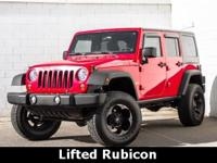 Lifted with custom wheels and tires. Best color! The
