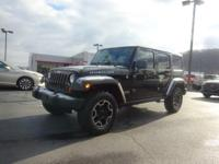 Clean CARFAX. 2011 Jeep Wrangler 3.8L V6 SMPI Unlimited