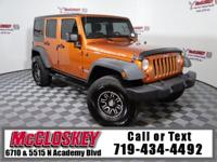 2011 Jeep Wrangler Unlimited Rubicon 4X4 with