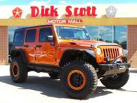 *Low Miles* *This 2011 Jeep Wrangler Unlimited Rubicon*