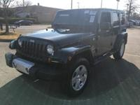Green 2011 Jeep Wrangler Unlimited Sahara 4WD 6-Speed