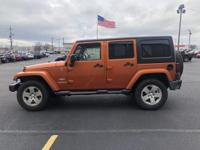 Recent Arrival!  2011 Jeep Wrangler Unlimited Sahara