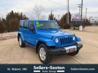 This outstanding example of a 2011 Jeep Wrangler