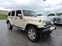 Wrangler Unlimited Sahara, 4D Sport Utility, and Black