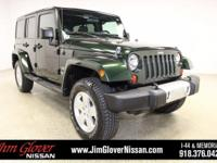 2011 Jeep Wrangler Unlimited Sahara in Natural Green