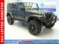 SAHARA-4X4-LIFTED-FREEDOM TOP-POWER WINDOWS-POWER