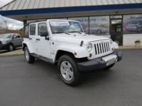 ONE OWNER and NON-SMOKER. Wrangler Unlimited Sahara, 4D