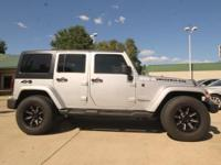 Options:  2011 Jeep Wrangler Unlimited Sahara|Sweet