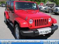 Options:  2011 Jeep Wrangler Unlimited Sahara|Clean