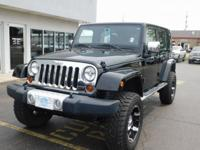 New Price! Black ClearCoat 2011 Jeep Wrangler Unlimited