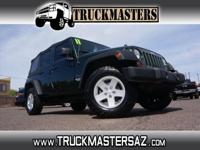 Options:  2011 Jeep Wrangler Unlimited Sport|4X4 Sport