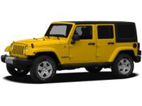 This 2011 Jeep Wrangler Unlimited Sport is a great