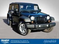 Options:  2011 Jeep Wrangler Unlimited Sport|Black