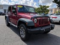 Recent Arrival! 2011 Jeep Wrangler Unlimited Sport Deep