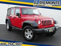 PRICED BELOW MARKET!! THIS Wrangler Unlimited WILL SELL