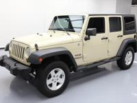 This awesome 2011 Jeep Wrangler 4x4 comes loaded with