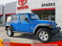 Clean CARFAX * Sport * Unlimited * Removable soft top *