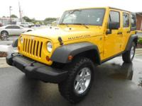LOCAL TRADE! Rubicon trim. CLEAN CARFAX 1-Owner.