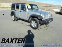 CARFAX 1-Owner, Superb Condition. iPod/MP3 Input, 4x4,