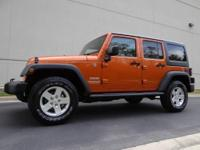 This is one Sharp Jeep Wrangler Unlimited 4x4 !! It was