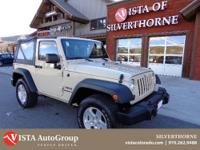 Come in today and take this Wrangler for a spin! With