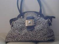 Gorgeous Jessica Simpson bag, cheetah print with brown