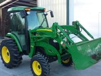 John Deere 4320 233 Hours 400CX loader for sale! 2011