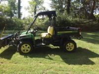 2011 John Deere Gator 825i w/snow plow..I WILL SHIP! It