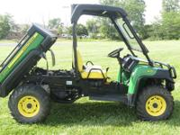 2011 JOHN DEERE GATOR 825I UTV SIDE BY SIDE 4X4 THAT IS