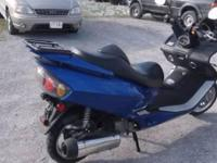 2011 JonWay YY250T Scooter, 660 miles, great gas