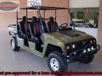 2011 Joyner Renegade R4 4x4. It has the following