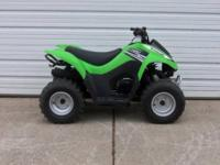 2011 Kawasaki KFX 90 is in showroom condition with very