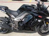 2011 Kawasaki Ninja 1000 This powersport cycle has 350