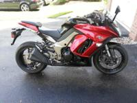 2011 Kawasaki Ninja 10005454 mi.bought it new, garage