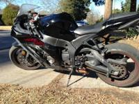 2011 Kawasaki Ninja ZX-10R ABS. With its full redesign