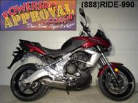 2011 Kawasaki Versys 650 motorcycle for sale only
