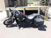 2011 Kawasaki Vulcan 900 Custom Special Edition. It has