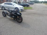 2011 Kawasaki ZX-10rr for $12K OBO. Runs 8.4 in a