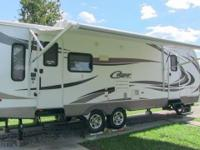 2011 Keystone Cougar 27rls X-Lite travel trailer,