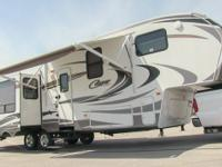 2011 Keystone Cougar 327RES fifth wheel, 36 foot, (3)