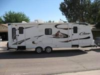 "25ft travel trailer, 20"" LCD TV, Polar Package,"