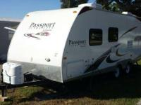 2011 Keystone RV Passport Ultra Lite. 2011 Keystone