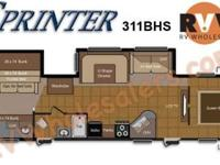 2011 Keystone RV Sprinter 311BHS Travel Trailer Color